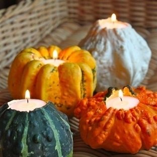 GET CREATIVE WITH PUMPKINS FOR HOME DECOR