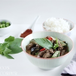 PANANG CURRY MIT RINDFLEISCH