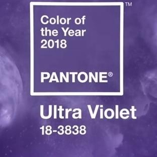 2018'İN RENGİ: ULTRA VİOLET
