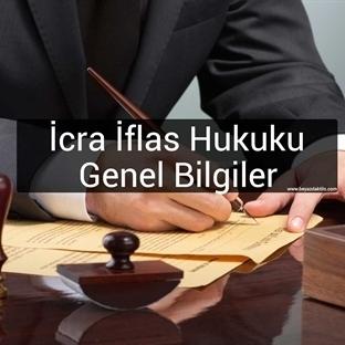 İCRA İFLAS HUKUKU I DERS NOTLARI