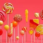 Android'in 5.0 Sürümünün Adı Lollipop Oldu