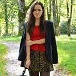 Autumn booties and leo skirt