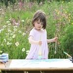 Küçük kızın yeteneği görenleri şaşırtıyor