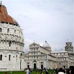 Pisa ve Pisa'nın Eğik Kulesi