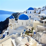 Romantizm adası Santorini