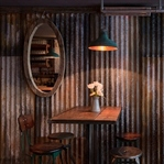 Brinkworth Design'dan Londra'da The Barnyard Cafe