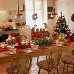 Mutfakta yeni yıl dekorasyonu