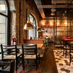 Oslo'da Peppes Pizza Restaurant Aydınlatma