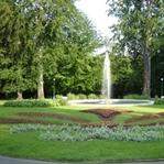 Prag kalesinin bahçesi