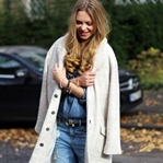 White Coat and denim