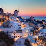 Yunanistan kıyılarında bir akşam yemeği