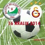Balçova Yaşamspor-Galatasaray Maçı 16 Aralık 2014