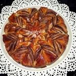 Çikolatalı Çiçek Ekmek