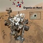 Curiosity Mars'ta İlk Kez Organik Molekül Buldu