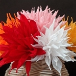 Evinizi El Yapımı Çiçeklerle Süsleyin