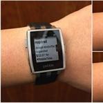 Pebble'a Android Wear Özellikleri Geliyor!