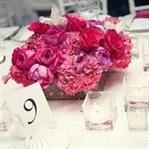 Romantik Düğün Masa Süslemeleri