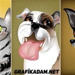 Sevimli Illustrator Hayvanlar!