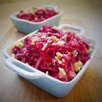 Ayvalı,Elmalı,Cevizli Kırmızı Pancar Salatası
