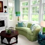 Yeşil Renkli Ev Dekorasyonu Örnekleri