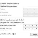 DNS Nasıl Değiştirilir ?