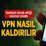 iPhone ve İpad'lerde VPN nasıl kaldırılır?