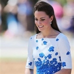 Kate Middleton: LK Bennett Lasa Poppy Print Dress