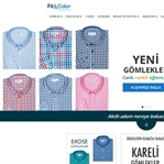 İlk online erkek giyim markası:Fit&Color
