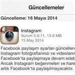 Instagram'da Facebook Beğeni Paylaşımı Kalktı