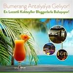 Bumerang Deneyim Günleri, Antalya'da!