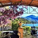 İtalya Como Gölü'nde Bahar