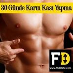 30 Günde Karın Kası Yapma (Çalışma Programı)