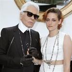 """Karl Lagerfeld: """"İlham Perim Kristen Stewart"""""""