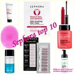 SEPHORA TOP 10 !