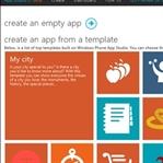 Windows Phone App Studio İlk Bakış ve İlk Uygulama