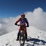 Bisikletle Ağrı Dağı'ndan İndi