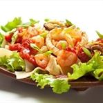 Enfes Karidesli Salata