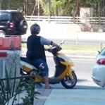 Scooter Kullanmanın yaşıyok bayanlar..