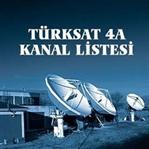 Türksat 4A Frekans Listesi ve Ayarları
