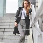 2015 Kış Ekose Pantolon Modası ve Kombinleri