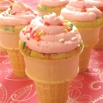 Dondurma Külahinda Cupcake