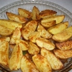 Fırında Elma Dilim Kabuklu Patates Nasıl Yapılır?