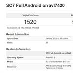 Galaxy S6, benchmark sonuçlarında ortaya çıktı