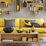 Hardal Sarısı Rengi İle Dekorasyon Önerileri
