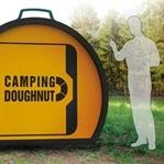 İlginç Kamp Çadırı :Camping Doughnut