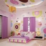 Muhteşem Renklerde Rengarenk Yatak Odası Tasarımla