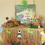 Safari Temalı Doğumgünü Organizasyonu