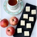 Sağlıklı şekersiz elmalı tatlı (elmalı bulutlar)