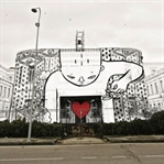 Sokaktaki Devasa Mural Çalışmaları