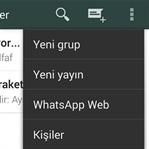 WhatsApp artık webden de kullanılabilecek